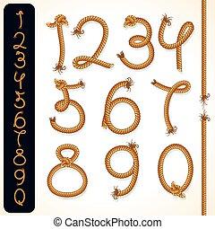 Rope Numbers