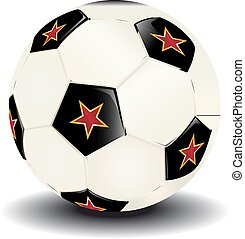 soccer ball with stars - Just a soccer ball for you