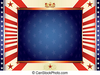 American patriotic background - An american background for...