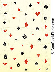 grunge poker wallpaper - A grunge wallpaper for a background...
