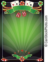 Las Vegas - A poster for a casino com on for the world poker...