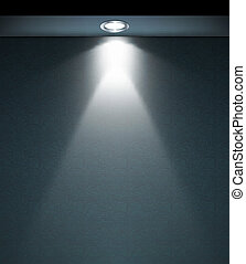 Lighted Wall Lamp. Vector