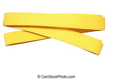 Yellow Belt - Martial arts Yellow belt achievment