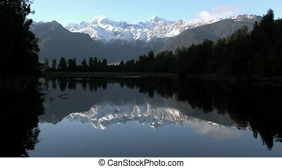 Lake Matheson, West Coast - Lake Matheson. West Coast, New...