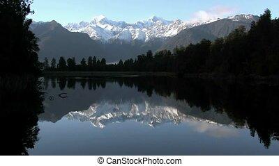 Lake Matheson, West Coast - Lake Matheson. West Coast, New...