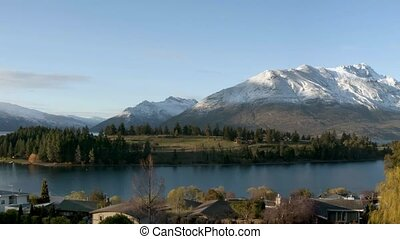Lake Wakatipu - Queenstown - Lake Wakatipu, located in the...