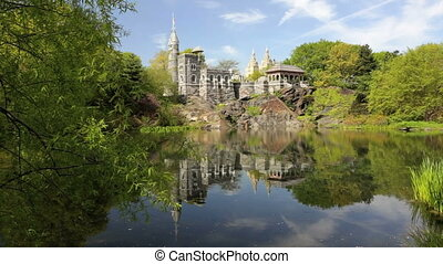 Belvedere Castle - New York City's Central Park with...