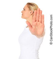 Repelling gesture