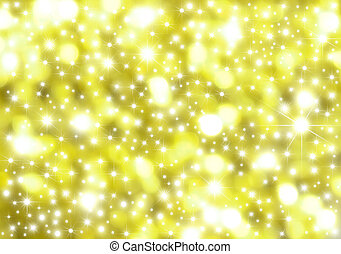 Abstract light background - bright background of nebulae and...