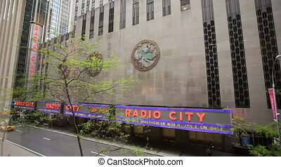 Radio City Music Hall - New York City's famed Radio City...