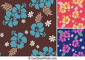 seamless flower fabric pattern