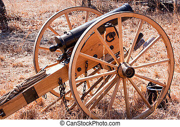 Revolutionary Cannon - Revolutionary cannon sitting in the...