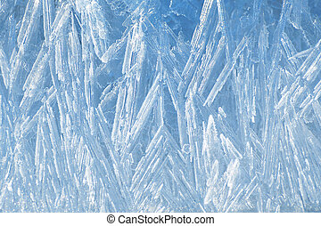 Natural ice texture