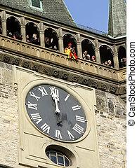 detail of Prague Astronomical Clock - PRAGUE,CZECH...