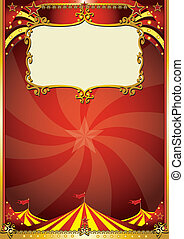 top background - A new circus background with a big top for...