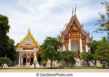 Wat Bangor in Thailand - Wat Bangor in Ayutthaya Thailand