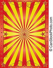 happy circus background