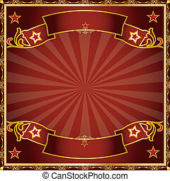 greeting circus - a background for a greeting card