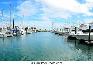Boat Marina - Boat marina on the eastcoast of florida usa