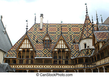 Hospices of Beaune - The old people's homes of Beaunes are...