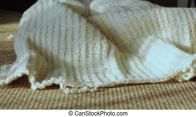 Untwisted sweater and beige clew - Untwisted sweater and...