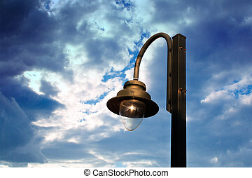 Image of street light.