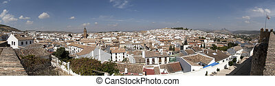panoramic Antequera - Panoramic of Antequera, a beautiful...