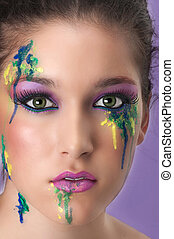 Cosmetic Make Up - Make up is an art form