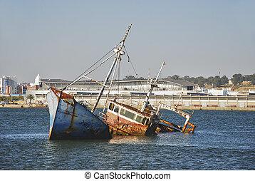 Port of Huelva, Andalusia, Spain