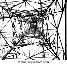 Large Electricity Powermast