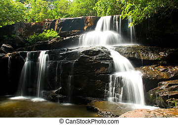 Pangsida Waterfall East of Thailand,