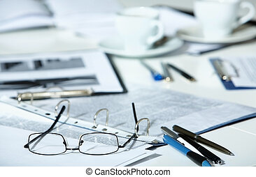 Business objects - Picture of several business objects...