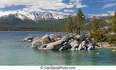 Lake Tahoe Sand Harbor Beach - Sand Harbor Beach At Lake...