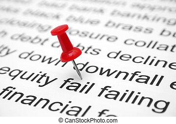 Financial fail