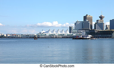 Canada Place, Vancouver BC Canada - Canada Place in...