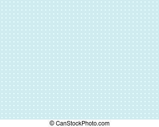 Light blue polka dot