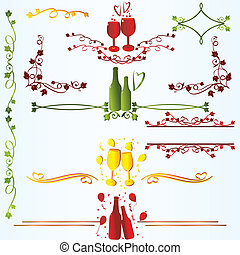 Ruleline  for xmas or new year celebration