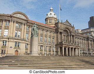 Victoria Square, Birmingham - Victoria Square in Birmingham,...