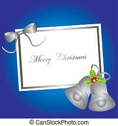 blank card christmas
