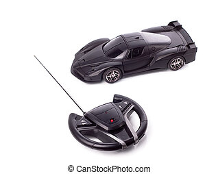 RC machine - photo of radio-controlled cars on a white...