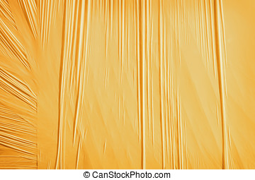 Orange background from a packing material - Orange...