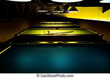 billiard saloon