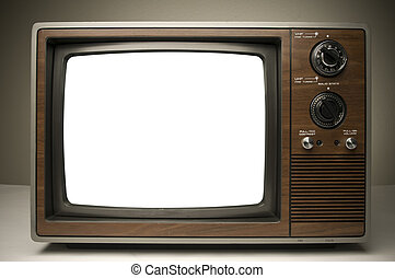 Vintage TV - Picture of a Vintage TV