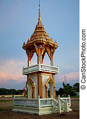 bell tower in Thailand