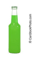 alcohol bottle - isolated alcohol bottle