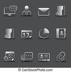 Dark Icons - Group collaboration - Group collaboration icon...