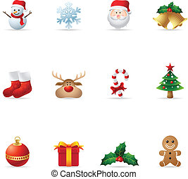 Web Icons - Christmas - A set christmas icons