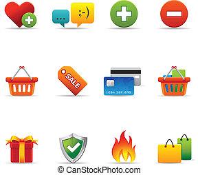 Web Icons - Ecommerce - Ecommerce icon set Font source:...