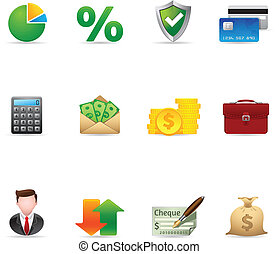 Web Icons - More Finance - Finance icon set. Font source:...