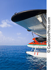 Seaplane at Maldives - Sea plane at Maldives -...